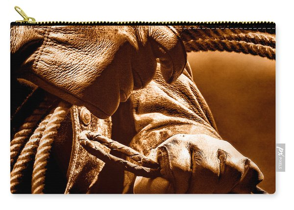 Ranch Hands - Sepia Carry-all Pouch