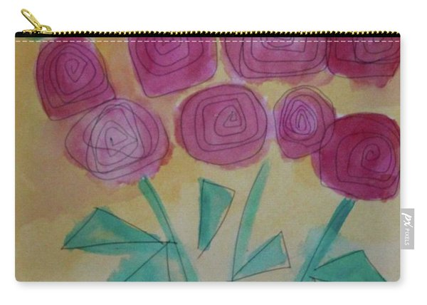 Randi's Roses Carry-all Pouch