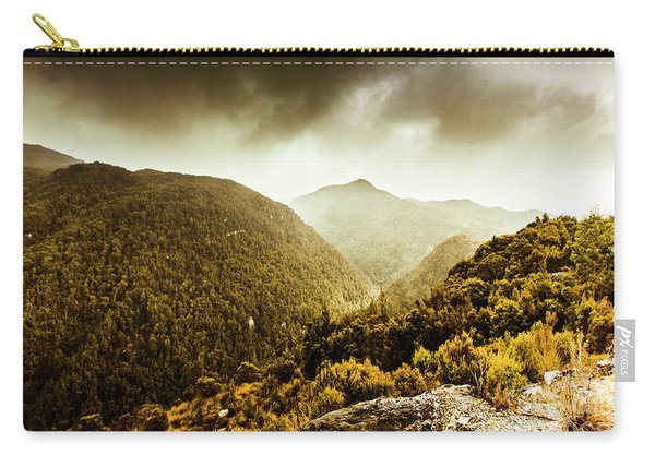 Range Of Scenic Country Carry-all Pouch