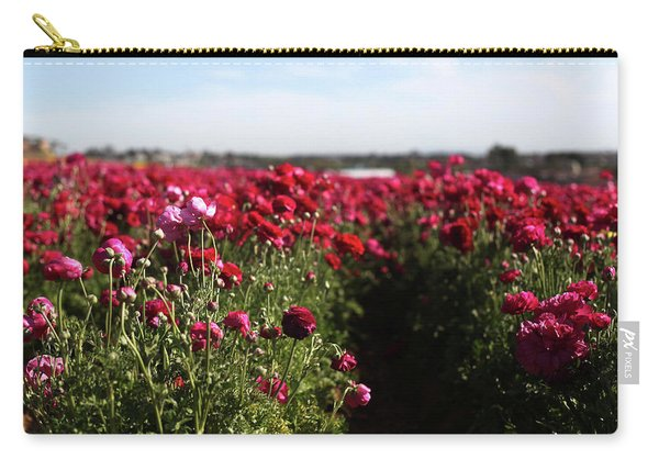 Ranunculus Field Carry-all Pouch