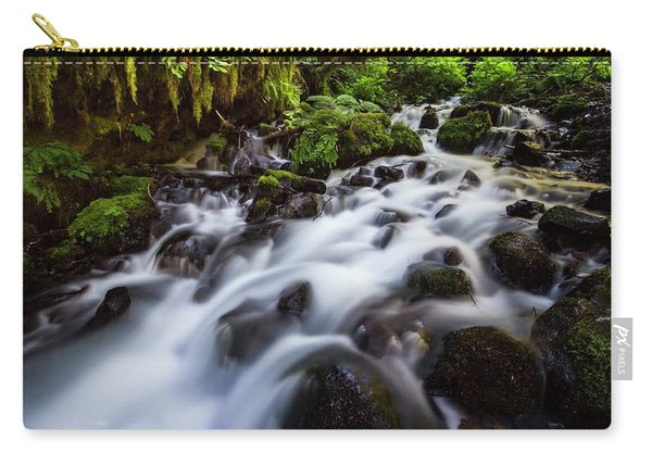 Rapids On Wahkeena Creek Carry-all Pouch