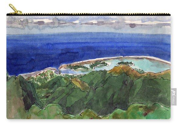 Rarotonga, View From Te Manga Carry-all Pouch
