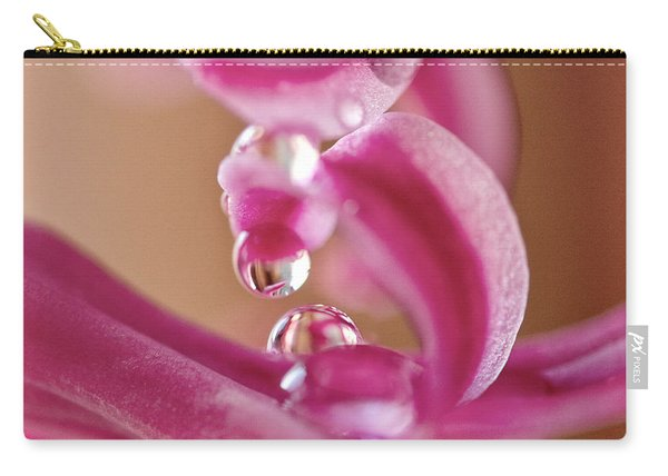 Raspberry Swirl Carry-all Pouch