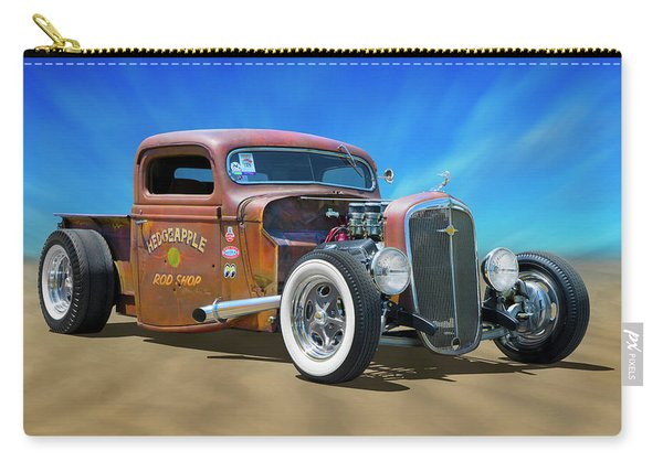 Rat Truck On The Beach Carry-all Pouch