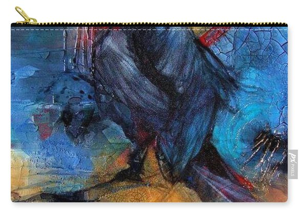 Raven Blue Carry-all Pouch