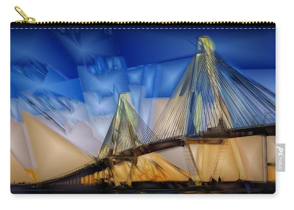 Ravenel At Dusk Carry-all Pouch