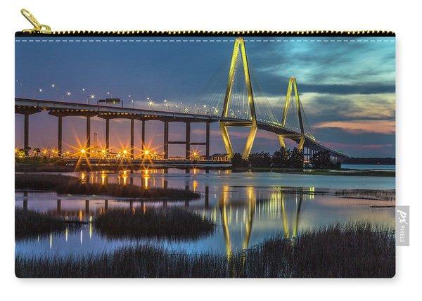 Ravenel Bridge Reflection Carry-all Pouch