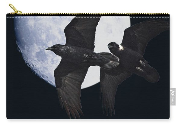 Ravens Of The Night Carry-all Pouch