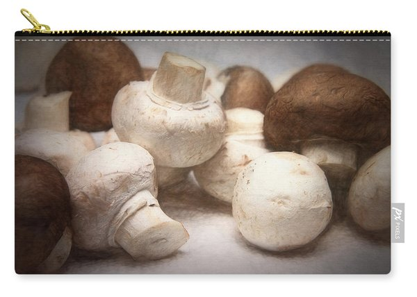 Raw Mushrooms Carry-all Pouch