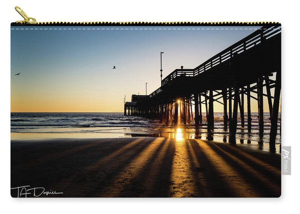 Rays Of Evening Carry-all Pouch
