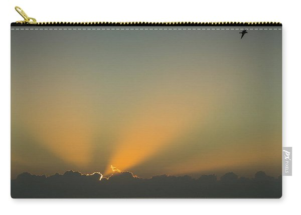 Rays Of Hope At Sunrise Delray Beach Florida Carry-all Pouch