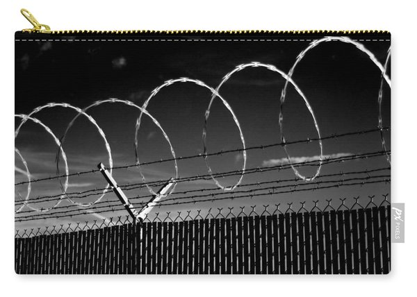 Razor Wire In The Sun Carry-all Pouch