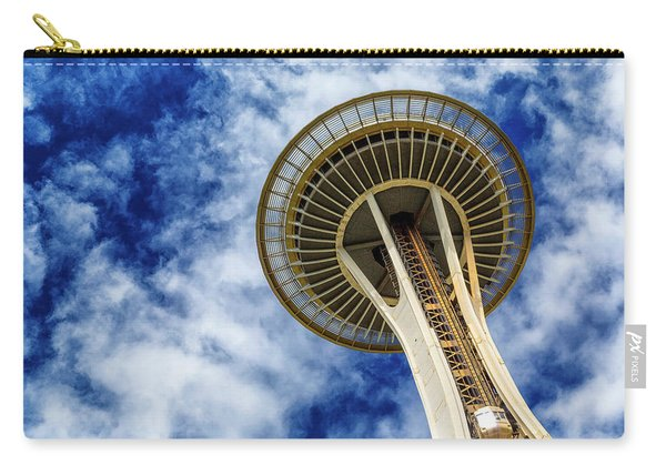 Reach For The Sky - Seattle Space Needle Carry-all Pouch
