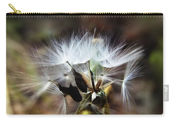 Ready To Fly... Salsify Seeds Carry-all Pouch