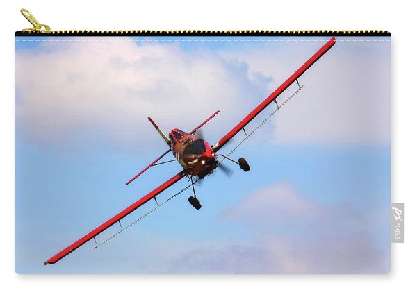 Ready To Spray - Crop Duster - Ag Pilot - Arkansas Razorbacks Carry-all Pouch