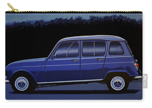 Renault 4 1961 Painting Carry-all Pouch