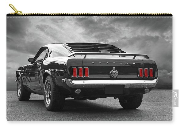 Rear Of The Year - '69 Mustang Carry-all Pouch