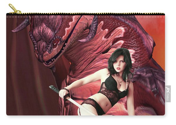 Rebel Dragon Carry-all Pouch