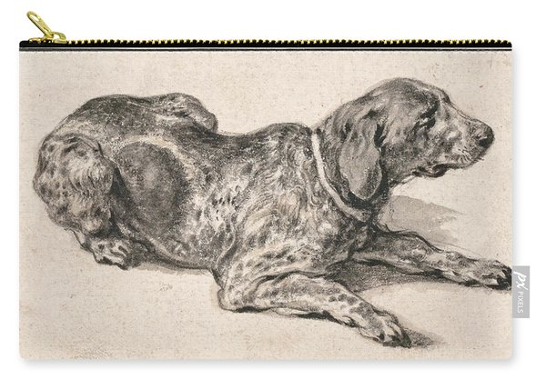 Reclining Dog Carry-all Pouch