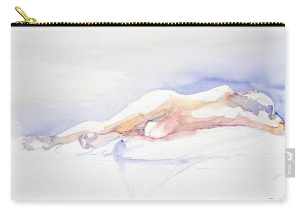 Reclining Figure  Carry-all Pouch