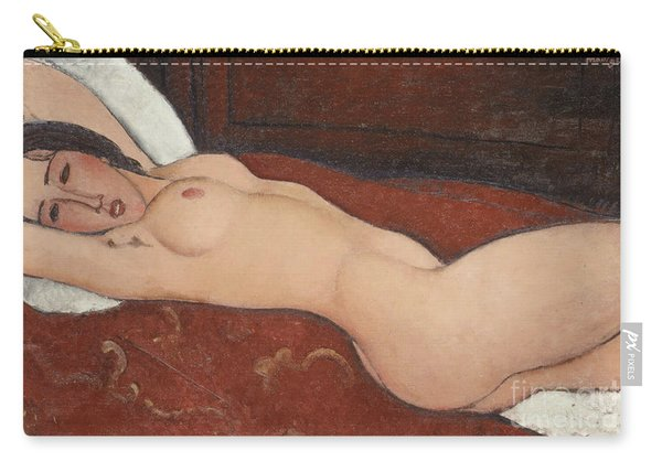 Reclining Nude, 1917 Carry-all Pouch
