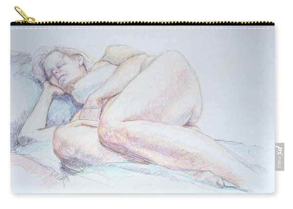 Reclining Study 2 Carry-all Pouch