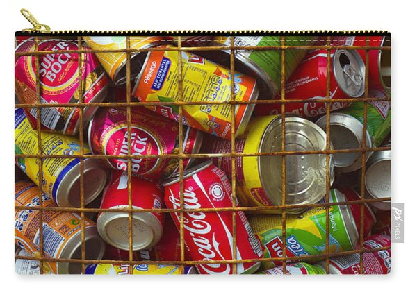Recycling Cans Carry-all Pouch