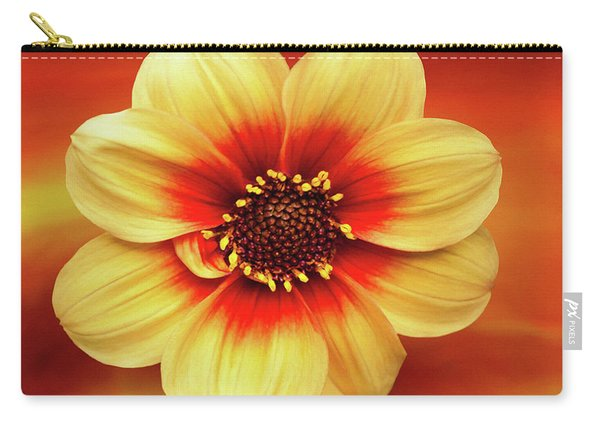 Red And Yellow Inspiration Carry-all Pouch