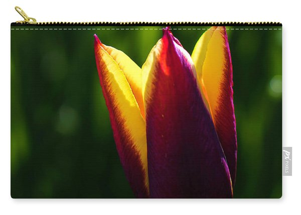 Red And Yellow Tulip Carry-all Pouch