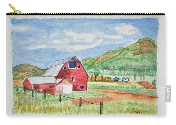 Red Barn Landscape Carry-all Pouch