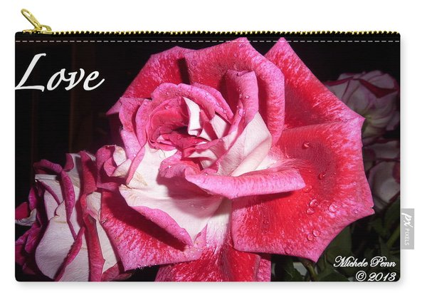 Red Beauty 3 - Love Carry-all Pouch