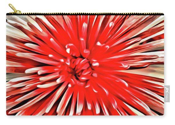 Red Burst Carry-all Pouch