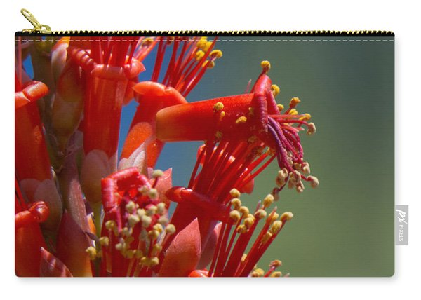 Red Cactus Flower 1 Carry-all Pouch