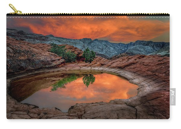 Red Canyon Reflection Carry-all Pouch