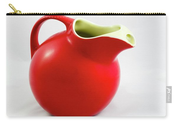 Red Ceramic Pitcher Carry-all Pouch