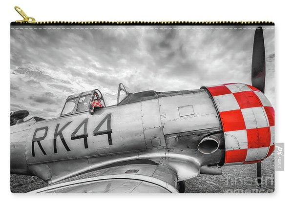Red Checkers Carry-all Pouch