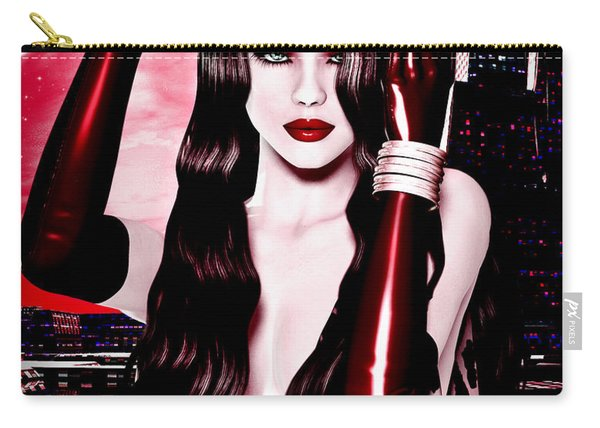 Red City Carry-all Pouch