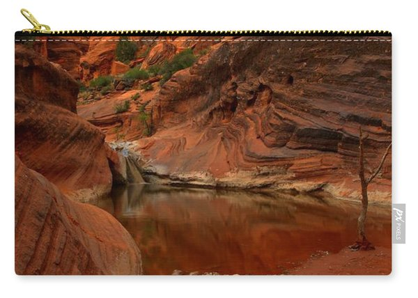 Red Cliffs Reflections Carry-all Pouch