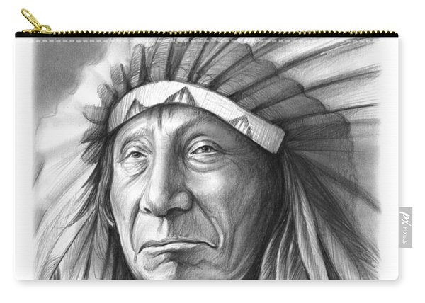Red Cloud Carry-all Pouch