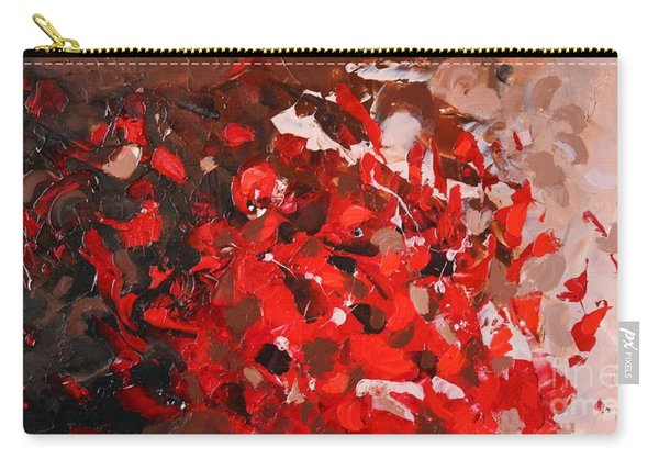 Red Coral Carry-all Pouch