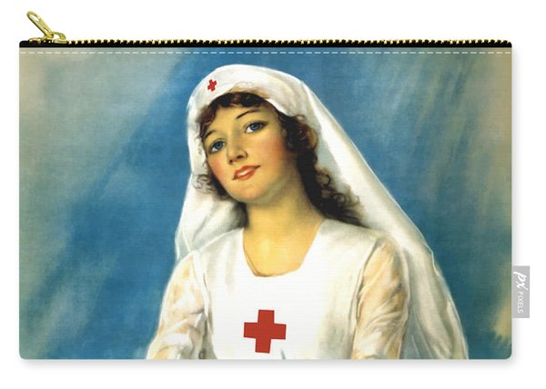 Red Cross Nurse - Ww1 Carry-all Pouch