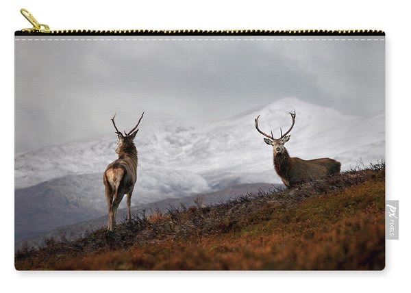 Red Deer Stags Carry-all Pouch