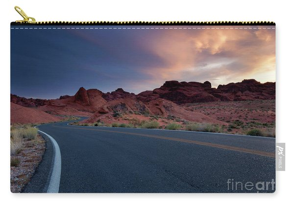 Red Desert Highway Carry-all Pouch