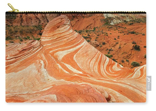 Red Desert Stripes Carry-all Pouch