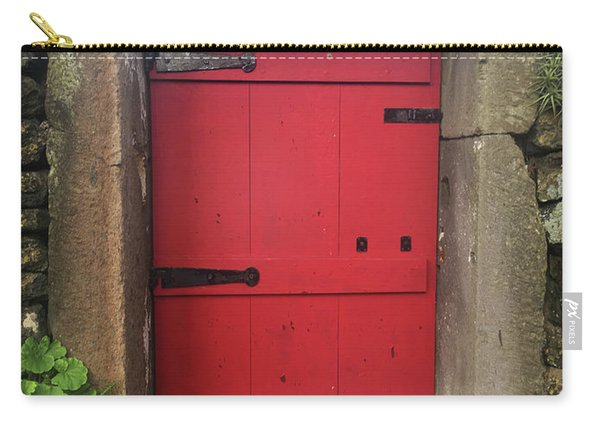 Red Door At The Wine Museum Of Biscoitos Carry-all Pouch