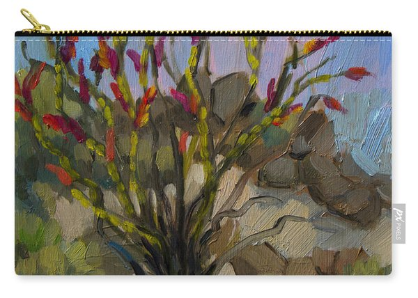 Red Flame Ocotillo 5 Carry-all Pouch