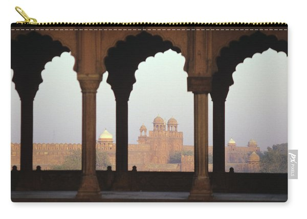 Red Fort From The Jama Masjid Carry-all Pouch