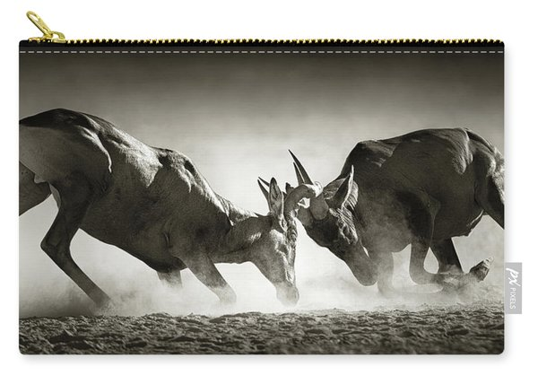 Red Hartebeest Dual In Dust Carry-all Pouch