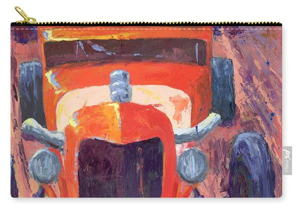 Red Hot Rod Sedan Carry-all Pouch