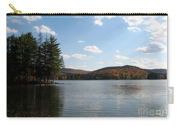 Red House Lake Allegany State Park Ny Carry-all Pouch